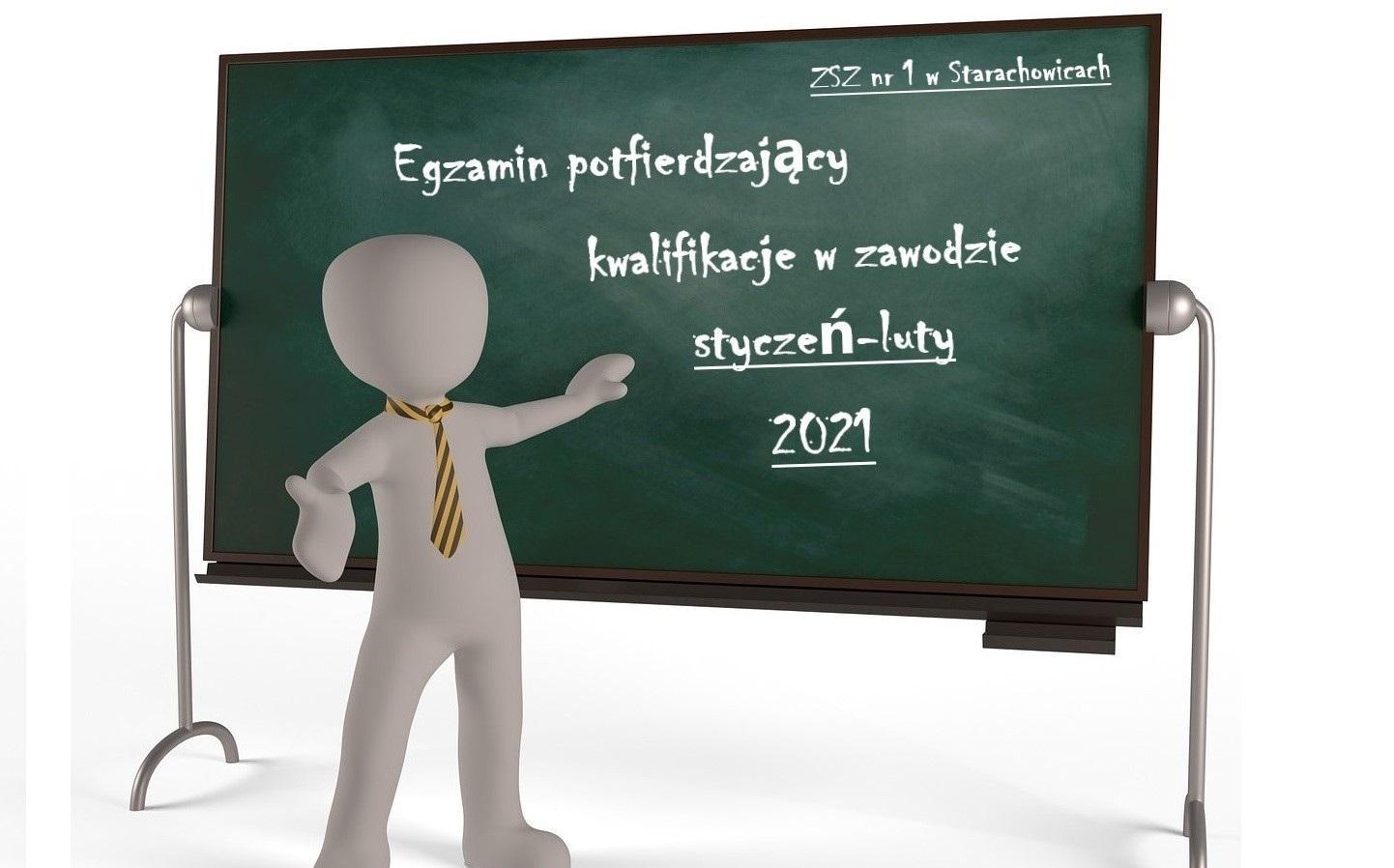 egzamin zawodowy styczeń-luty 2021