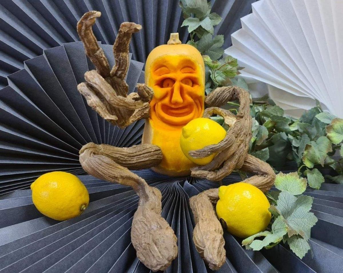 Carving. Rzeźba z owoców i warzyw
