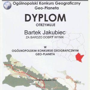 Uznanie za wiedzę geograficzną